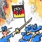 Sechseläuten Cartoon 2010